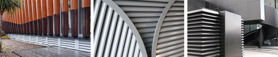 Weather Resistant Louvres