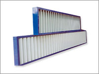 WPL100 Vertical Louvres